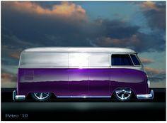 ❀ VW Van Custom ❀of course for Audri Volkswagen Bus, Vw T1, Vw Camper, Ferdinand Porsche, Vw Bugs, Station Wagon, Kombi Food Truck, Kombi Trailer, Vw Minibus
