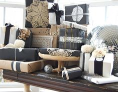 Christmas Giftwrap from my Better Homes & Gardens Christmas Ideas Photo Shoot
