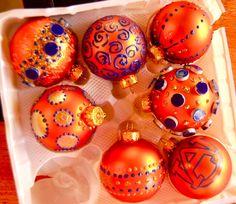 AUBURN university Christmas ornaments