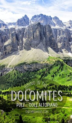Hiking Dolomites Ita