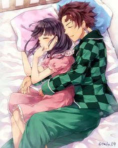 Demon Slayer: Kimetsu No Yaiba manga online Anime Love Couple, Cute Anime Couples, Demon Slayer, Slayer Anime, Anime Lindo, Demon Hunter, Anime Demon, Anime Ships, Kawaii Anime