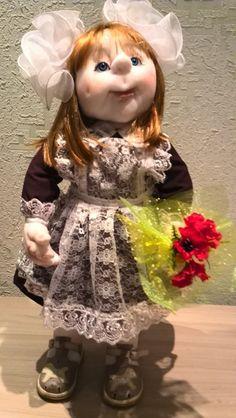 Soft Dolls, Soft Sculpture, Faeries, Harajuku, Flower Girl Dresses, Disney Princess, Wedding Dresses, Cute, Handmade