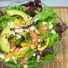 Avocado Citrus Salad | Art and the Kitchen