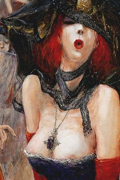 Marcel, Redheads, Erotic, Canvas, Drawings, Painting, Imagination, Archive, Lady