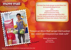 More Mall Testimonial #MoreMall #HomeShopping #Indonesia