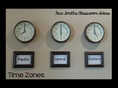 #FREE Telling Time Task Cards - Teaching and Blogging with Time Zones and Free Mixed Time To the Five Minutes Task Cards. #FernSmithsClassroomIdeas #Freebie #TPT