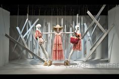 Macy's, New York #Schlappi mannequins supplied by Dk Display Corp