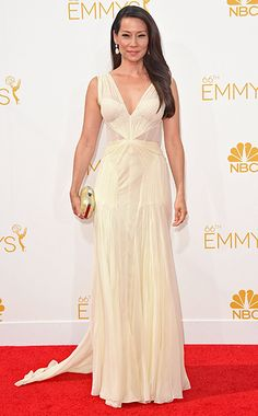 Lucy Liu at the Primetime Emmy Awards 2014