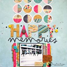 @fancypantsdsgns NEW collection #Flutter by @nicolenowosad #scrapbooking #layout #12x12 #papercraft