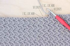 How to crochet the Suzette stitch. Full photo tutorial.
