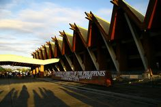 Zamboanga City International Airport by Sahlee C. Camposano, via Flickr Filipino Architecture, Zamboanga City, Philippine Houses, Philippines Culture, Building Structure, International Airport, Explore, Airports, Interior Ideas