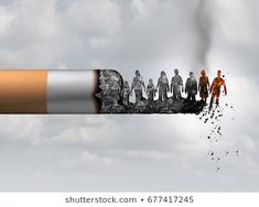 Even Smoking 'Just' One or Two Cigarettes a Day Increases Your Risk of Lung Disease Anti Smoking Poster, Smoking Causes Cancer, Smoking Kills, Japanese Water, Smoke Art, Creative Advertising, Bob Ross, Lunges, Background Images