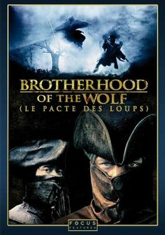 Brotherhood of the Wolf is a film based on a French legend of a creature who kills over 200 people and two who were sent by the king to kill the creature. This surprisingly well made movie is full of action and suspense as well as great action. The movie is subtitled and it probably the best action film to come out of France up to the release of the movie 2001. Worth watching.