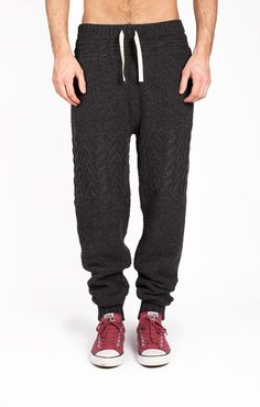 Blundetto Char - sweater knit pants