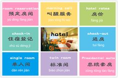 hotel expressions  You may need these phrases. Share with us if you know more vocabualry about hotel.