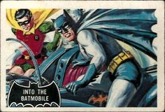 Norm Saunders & Bob Powell - Batman Trading Card Series 1 #8 (Topps 1966)