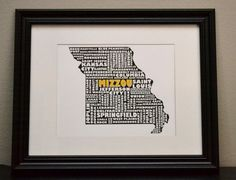 Bring a little Mizzou love into your home!