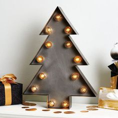 Christmas Tree Marquee Light - new in home