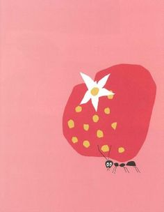 """lovefromouterspace: """"Paul Rand illustration from a children's book """" Illustration Design Graphique, Art Graphique, Gravure Illustration, Illustration Art, Icon Design, Design Art, Flat Design, Grafik Design, Food Illustrations"""