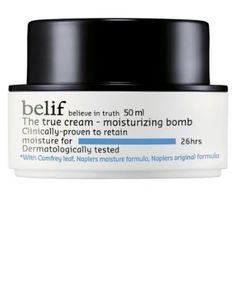 Belif The True Cream Moisturizing Bomb Skin Care Regimen, Skin Care Tips, Oil Free Foundation, Oil Free Makeup, Korean Skincare Routine, Lots Of Makeup, Prevent Wrinkles, Tea Tree Oil, Anti Aging Skin Care