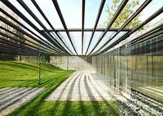 Key projects by Pritzker Prize 2017 winner RCR Arquitectes: Les Cols Restaurant Marquee, Olot, Girona, Spain Contemporary Architecture, Landscape Architecture, Landscape Design, Key Projects, Spiegel Online, Ramones, Countryside, Outdoor Living, Modern Architecture