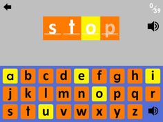 Sight Words Spelling HD ($0.00) - Over 300,000 downloads of our educational apps!  - 3 spelling hint levels including uppercase and lowercase  - Great for Speech Language Therapists working with clients    The Dolch Sight Words are the foundation of reading! This app offers spelling practice using the whole keyboard and 4 hint levels for different spelling levels. Contains an in-app purchase to unlock all 220 sight words