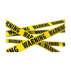 Warning Tape in Ahmedabad ❤ liked on Polyvore featuring home, home decor and office accessories