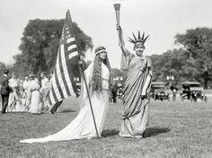 Living Liberty:  4th of July Celebration, 1919
