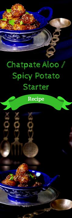 Recipe of Spicy Potato Starter , easy and quick to make. Best Indian Recipes, Asian Recipes, Aloo Recipes, Potato Recipes, Diwali Festival Of Lights, Delicious Dinner Recipes, Yummy Recipes, Main Course Dishes, Recipes From Heaven