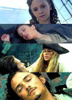 Will Turner and Elizabeth Swan