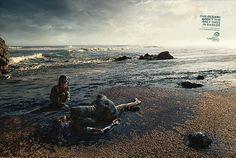 Print ad: Surfrider Foundation Australia: Oil Spill