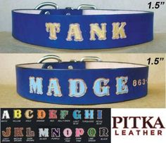 Personalized-Dog-Collars-and-Leashes-Blue-Leather-Dog-Collar-XL-Dog-Collar