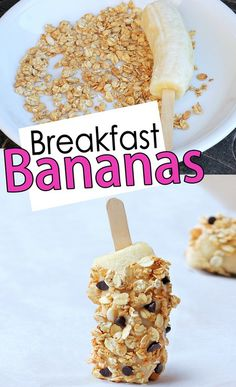 Breakfast Bananas | 21 Back-To-School Breakfast Recipes That Kids Will Love