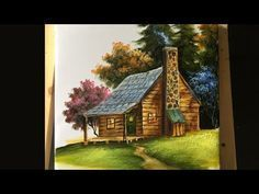 Painting The Basic House In Acrylics Lesson 1 Youtube