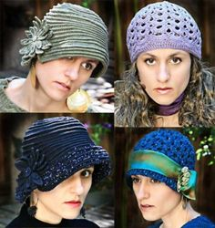 You Can Do It Yourself - Crochet Hats! — FASHION LEVEL 2012/2013