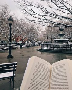 BOOK BARISTAS — snow looks so good on the west village  (at West...