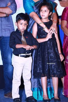 Actor Surya Son And Daughter At 36 Vayadhinile Music Launch (13)