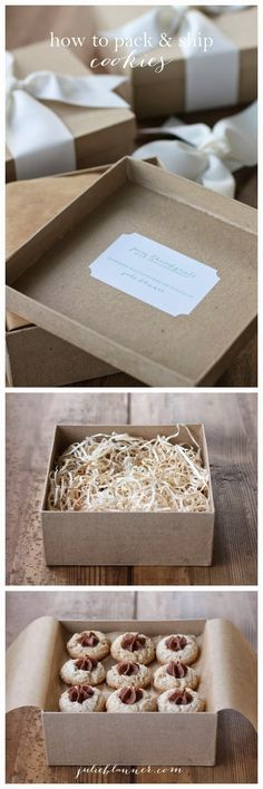 How to pack & ship cookies safely