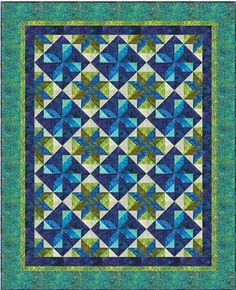"""Quilt Moments All for One Quilt Pattern 50"""" x 62"""""""