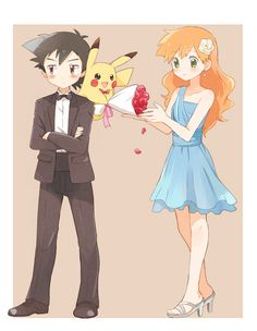 Ash x Misty |  kawaii