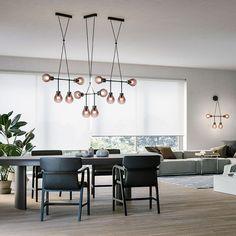 Chandeliers - MM Lampadari Contemporary Floor Lamps, Contemporary Style, Rain Design, Lighting Companies, World Of Interiors, Ceiling Lamp, Art Deco, Interior Design, Chandeliers
