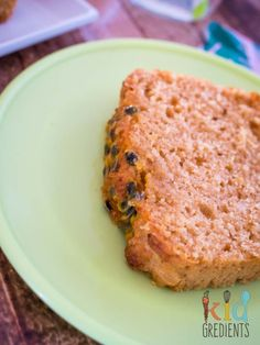This vanilla passionfruit loaf is easy to make and slice and freeze for the lunchbox. Yummy and no mixer needed. Get baking! Vanilla Paste, Types Of Cakes, Some Recipe, Nutrition Information, Serving Size, 3 Ingredients, Freeze, Mixer, Sweet Treats
