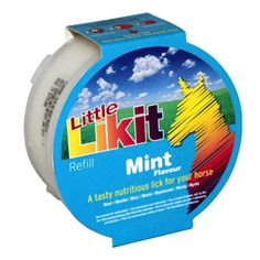 Likit Little Likit Refill Mint 250g Mouth-wateringly tasty Little Likit treats are designed to be used in conjunction with our range of Likit Toys to help make stable life more fun and less stressful.