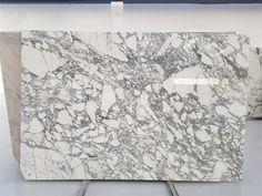 Arabescato marble big size in stock available, 20mm thick (3/4''), polished finish or can be honed too. Ask for availability and pricing Arabescato Marble, White Marble, Vintage World Maps, Around The Worlds, It Is Finished, Canning, Interior Design, Stone, Big