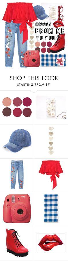 """Kisses 💋"" by stylist-at-work ❤ liked on Polyvore featuring Pat McGrath, MANGO, Carven, Fujifilm, Grandin Road and EyeBuyDirect.com"