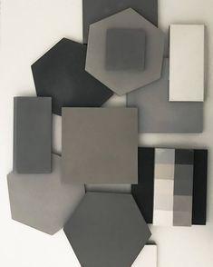 Our timeless neutrals are always a solid choice. Hexagon Tiles, Marble Tiles, Mosaic Tiles, Cement Tiles, Wall Tiles, Black White Bathrooms, Tile Stores, Encaustic Tile, Bath Fixtures