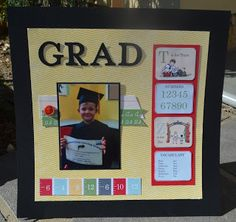 Christie's Creative Corner: Storybook Preschool Graduation Photo  Stampin' Up! Scrapbooking