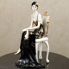 1920s Dameisele Figurine