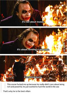 It's about sending a message - 9GAG