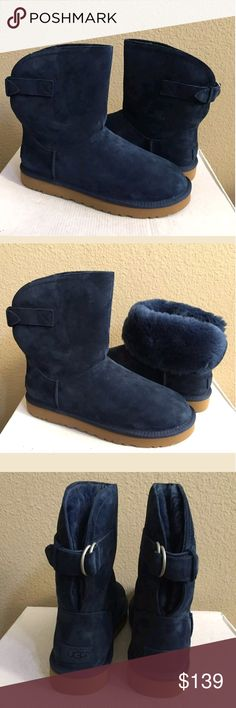 UGG Remora Boots Nwt Remora UGG boots in Navy. UGG Shoes Winter & Rain Boots